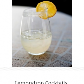 lemondrop cocktails