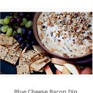 blue cheese bacon dip