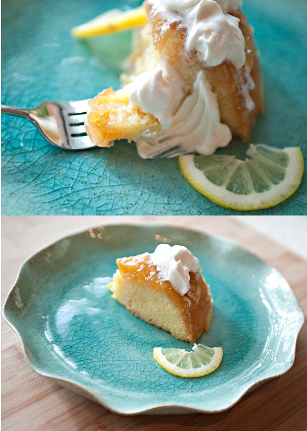 lemon ginger steamed pudding