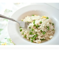 pea and lemon risotto