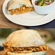 barbecue chicken sandwich
