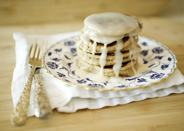 cinnamon bun pancake recipe