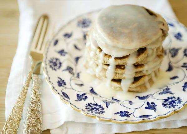 cinnamon bun pancake recipe