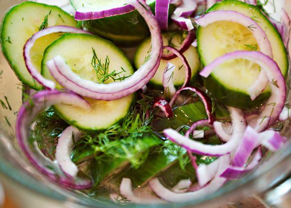 cucmber salad recipe