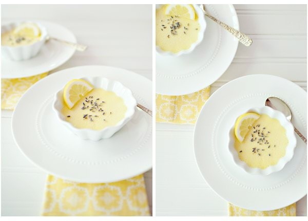 lemon lavendar pots de creme recipe