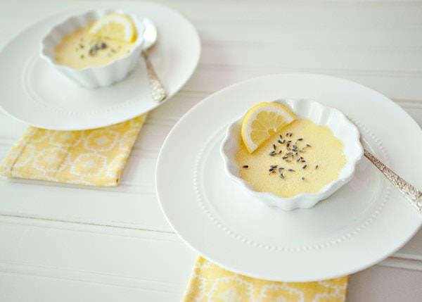lemon lavender pots de creme recipe
