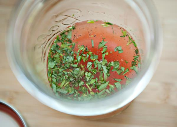 orange tarragon dressing