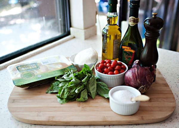 caprese chicken recipe