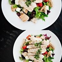 chicken pita salad