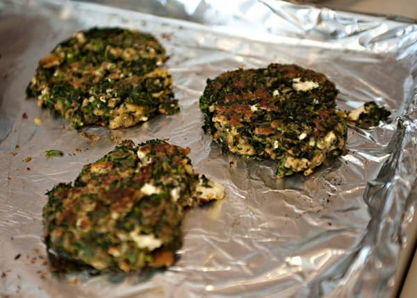 spinach feta burger recipe