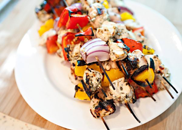 grilled chicken skewers recipe