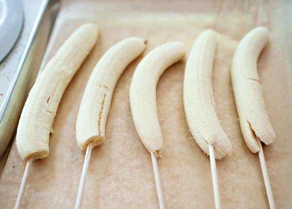 frozen chocolate covered bananas recipe