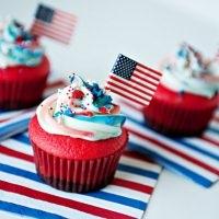 flag cupcake recipe