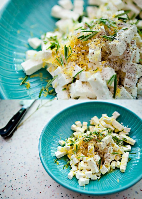 marinated feta