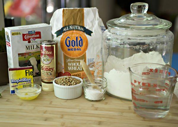 whole wheat bread machine recipe without milk