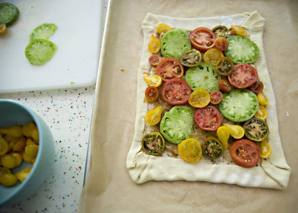 tomato and feta tart recipe