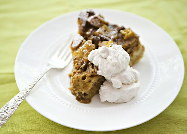 Pumpkin Bread Pudding - Baked Bree