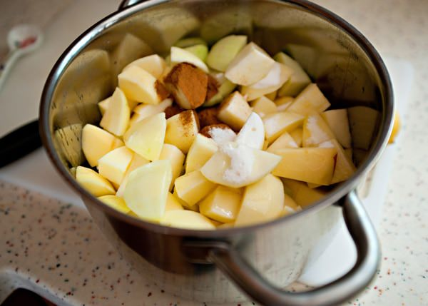 homemade apple sauce recipe