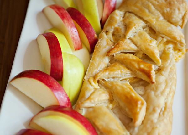 gouda in puff pastry appetizer