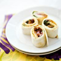 Spinach and Bacon Roll Ups