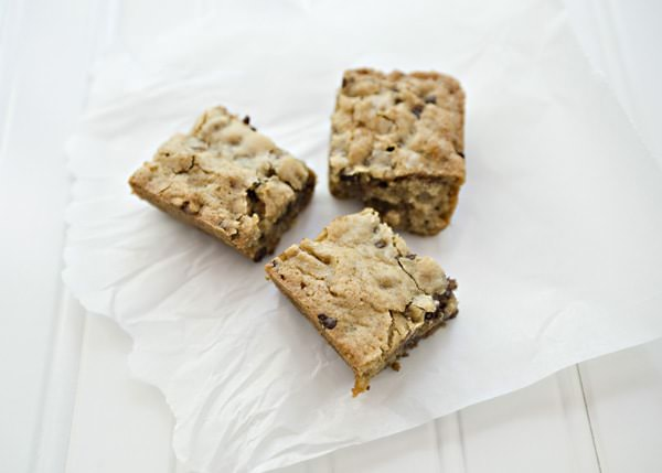 toffee blondie brownie recipe