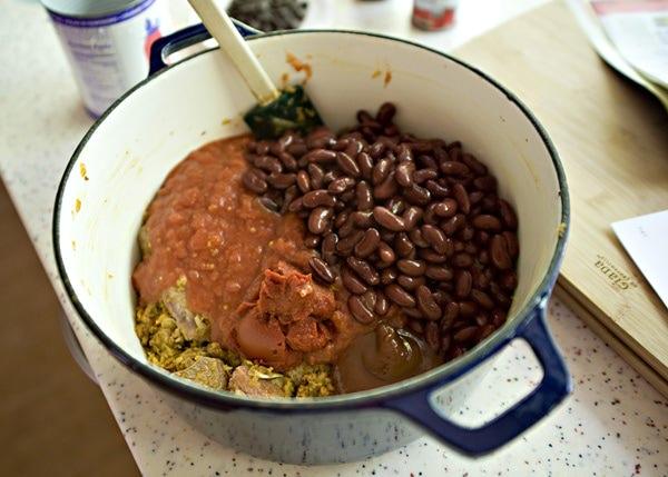 nigellas chocolate chili recipe
