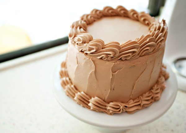 peanut butter cake with milk chocolate buttercream recipe