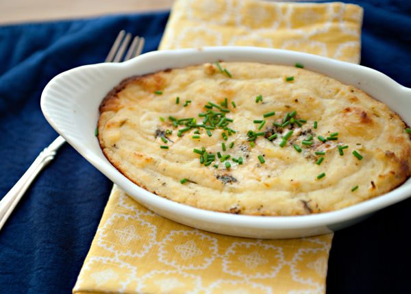blue cheese and roasted apple mashed potato recipe