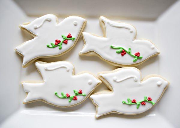 Christmas Dove Cookie recipe