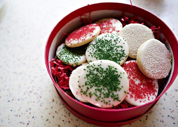 sugar cookie glaze recipe