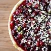 cranberry lime tart