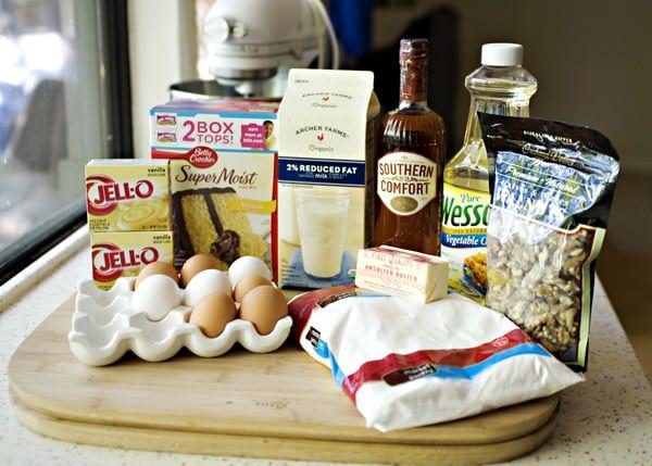 Southern Comfort Whiskey Cake Recipe