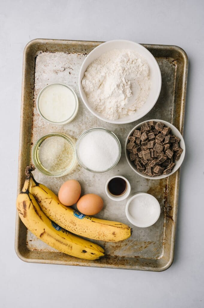 ingredients for best banana bread ever