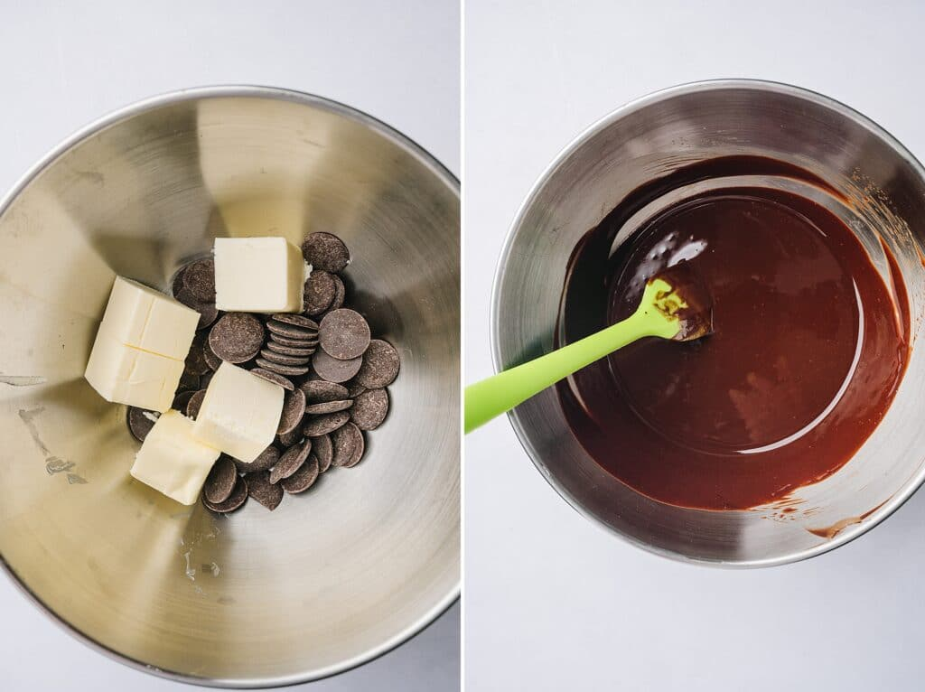 ingredients for matt's crazy brownies in a mixing bowl