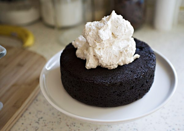 Mexican Chocolate Cake with Mascarpone Frosting - Baked Bree