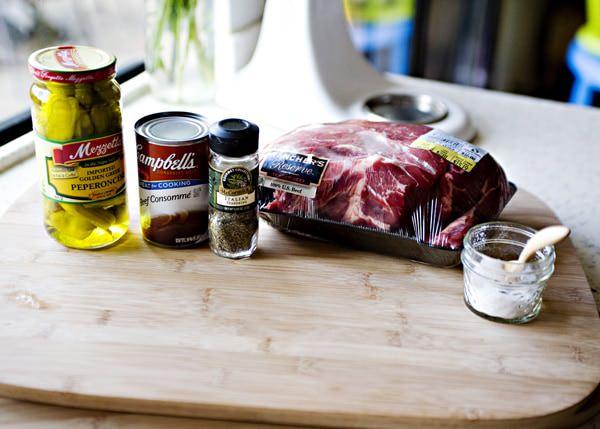 italian drip beed sandwich recipe