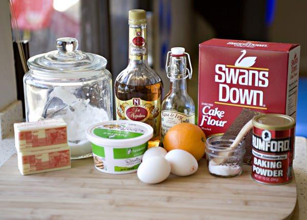 orange ricotta pound cake recipe