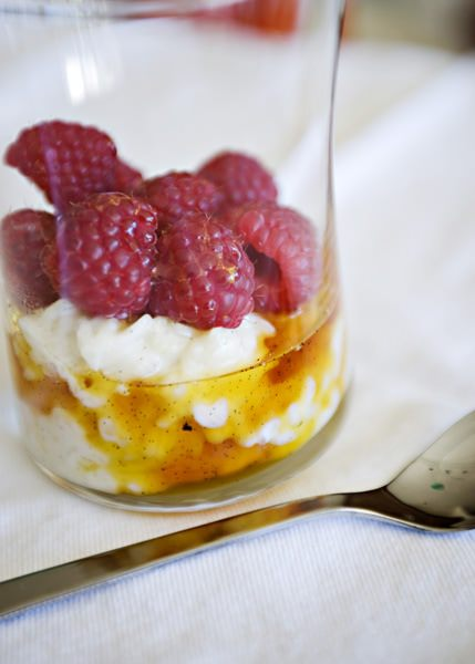 vanilla raspberry rice pudding recipe