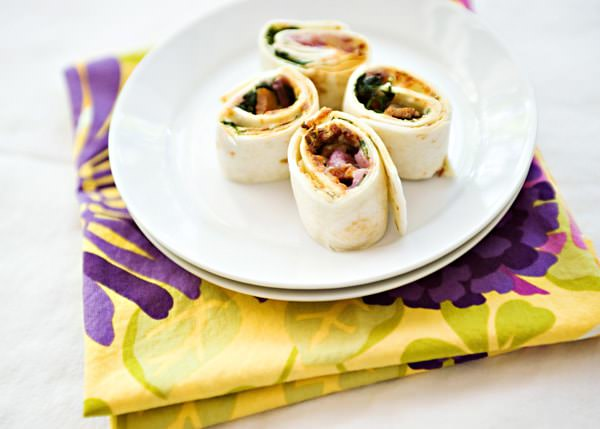 spinach and bacon roll up recipe