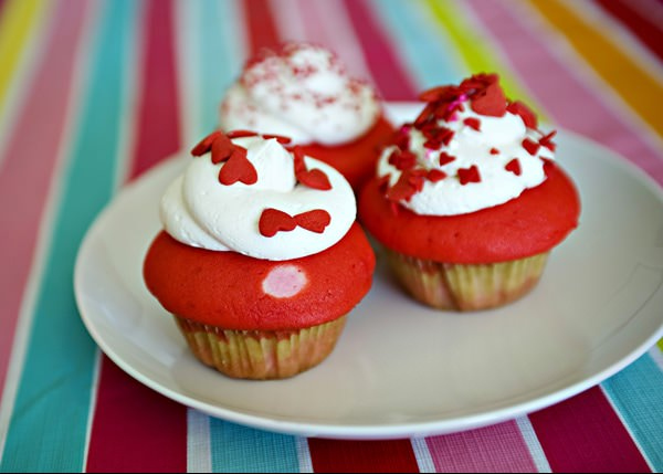 valentine cupcake recipe - Valentine Cupcake Recipes