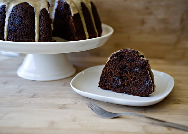 Chocolate Kahlua Bundt Cake Sour Cream