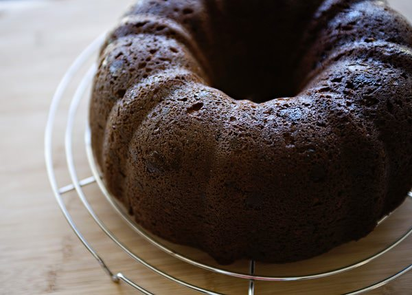 Chocolate Kahlua Bundt Cake