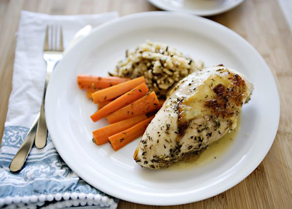 baked chicken with herbes de provence