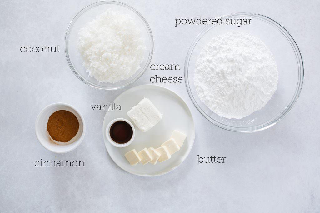 Irish Potato Candy ingredients
