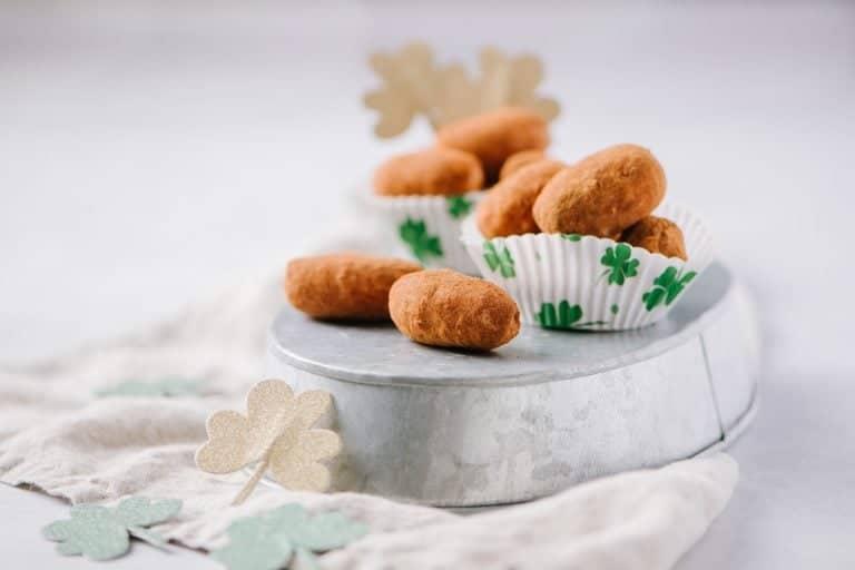 Philadelphia Irish Potatoes in cupcake liners