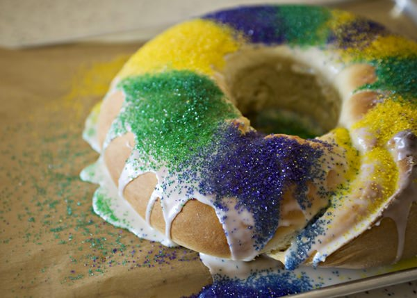 how to make a king cake with filling