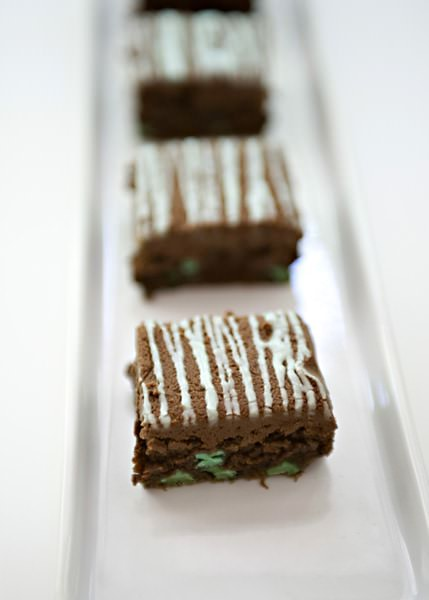 mint brownies recipe