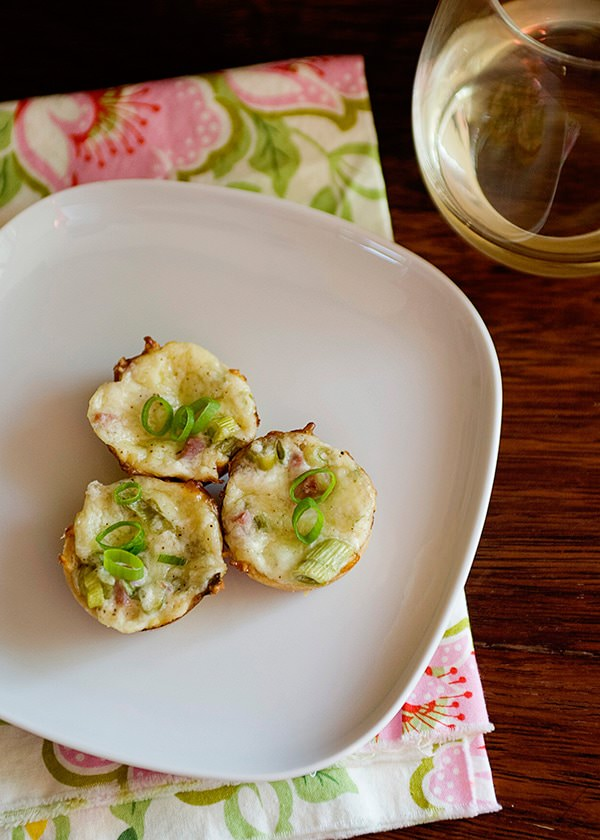 ham and swiss tart