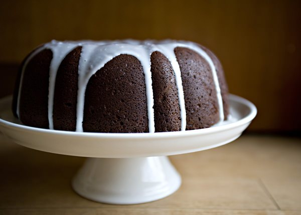 Sour Cream Chocolate Bundt Cake - Baked Bree