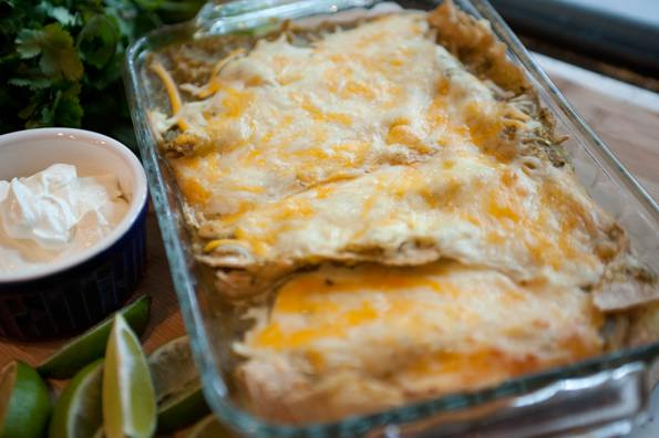 Enchiladas Verdes – This is one of my all-time favorite dinners ...